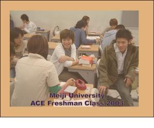 ACE Freshmen 2003