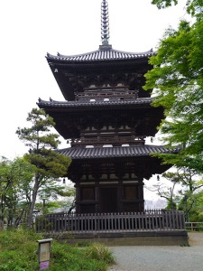 S1015 Three Story Pagoda