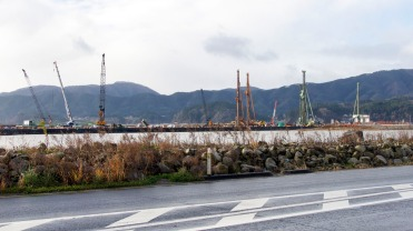 Cranes sign of reconstruction